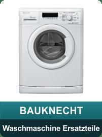 Baucknecht Waschmaschine Ersatzteile und Zubehör