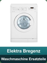 Elektra Bregenz Waschmaschine Ersatzteile und Zubehör
