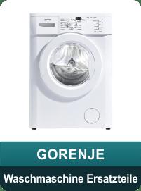 Gorenje Waschmaschine Ersatzteile und Zubehör